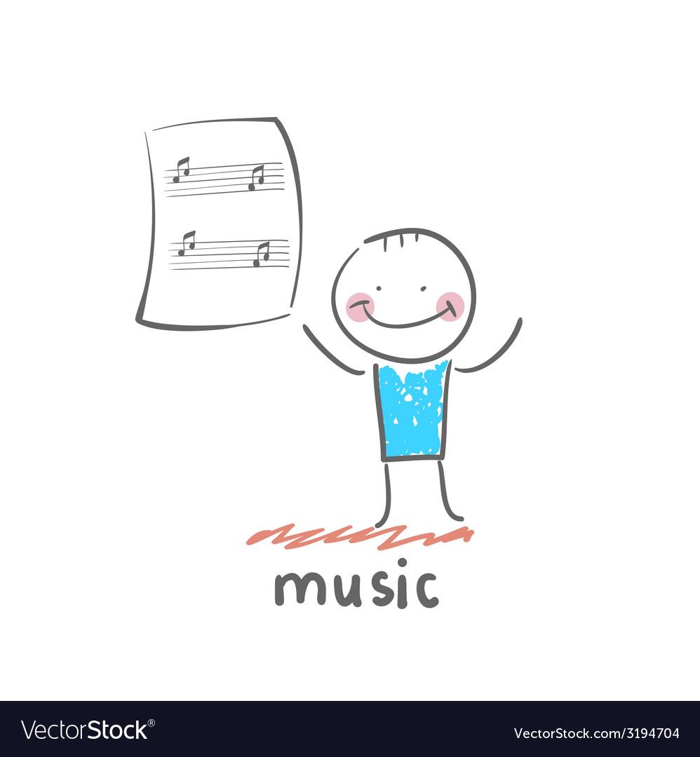 Music vector | Price: 1 Credit (USD $1)