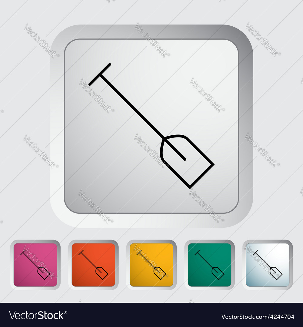 Paddle vector | Price: 1 Credit (USD $1)