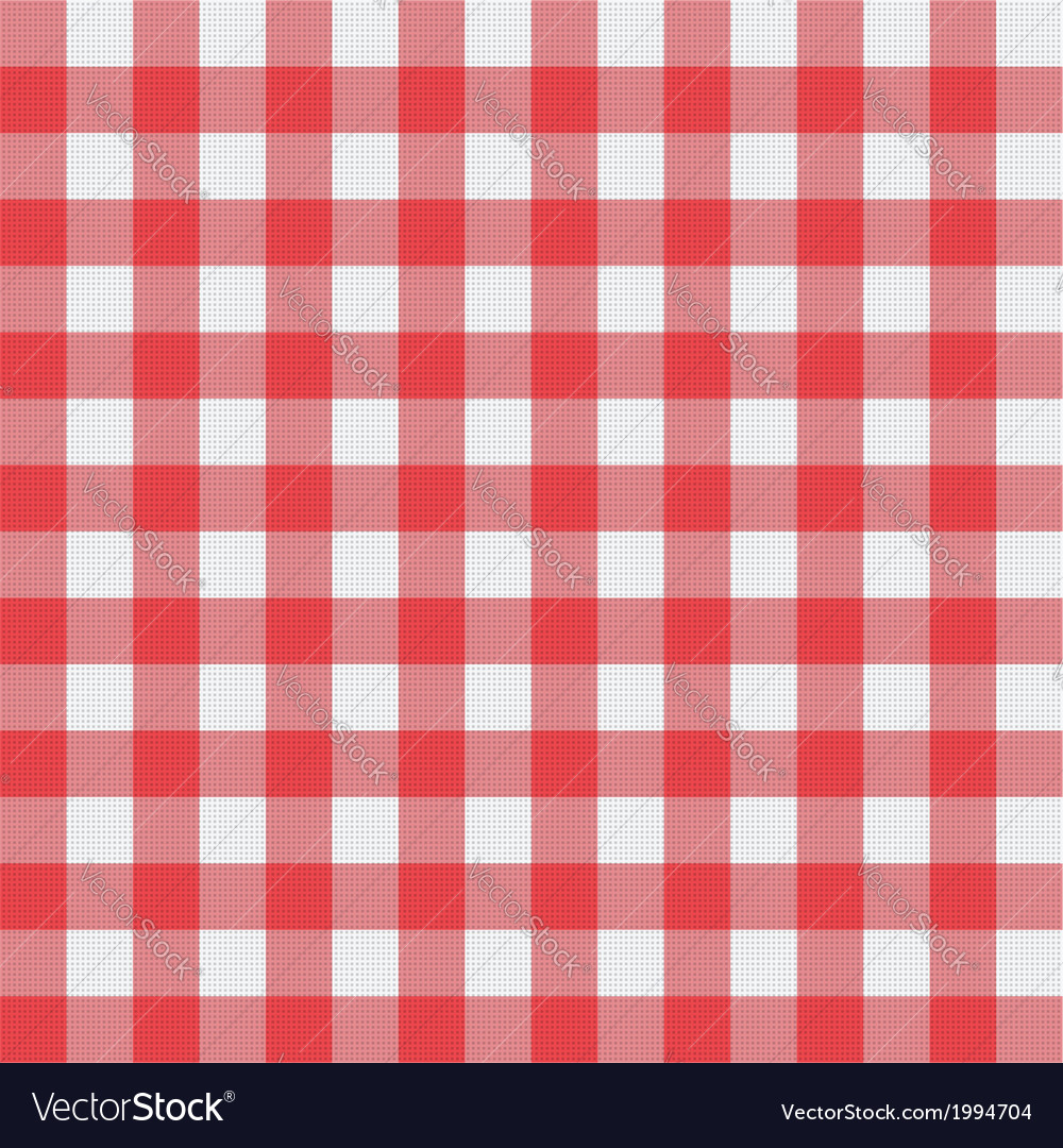 Picnic tablecloth pattern vector | Price: 1 Credit (USD $1)