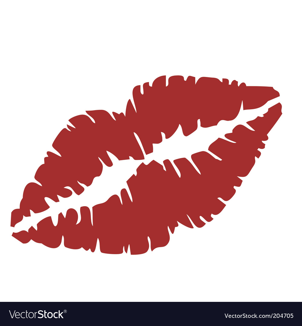 Close up of lips vector | Price: 1 Credit (USD $1)