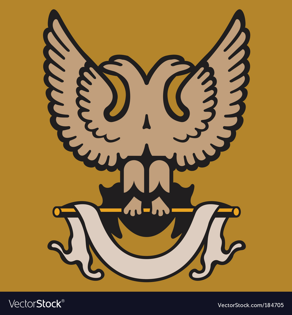 Eagle crest vector | Price: 1 Credit (USD $1)