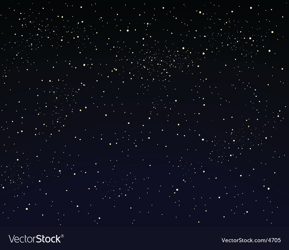 Starry sky vector | Price: 1 Credit (USD $1)