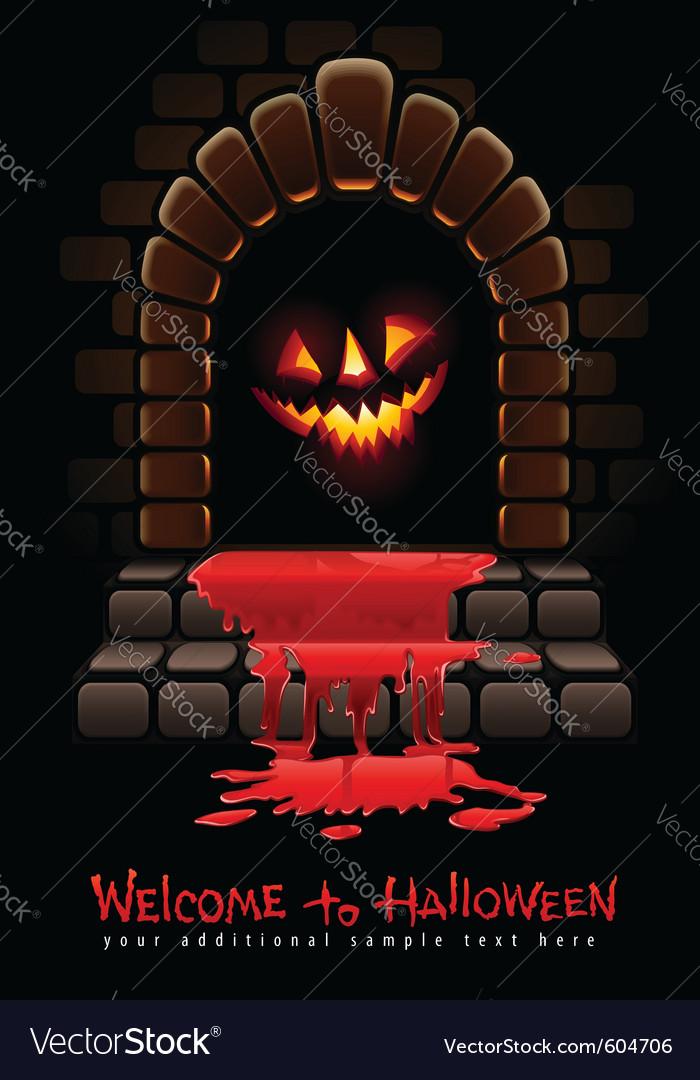 Halloween terrible vector | Price: 3 Credit (USD $3)