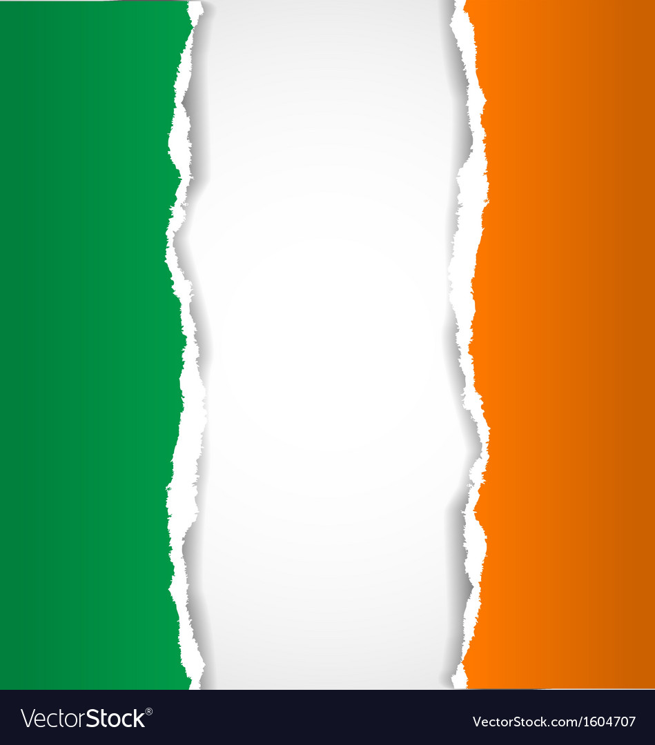Irish flag background vector | Price: 1 Credit (USD $1)