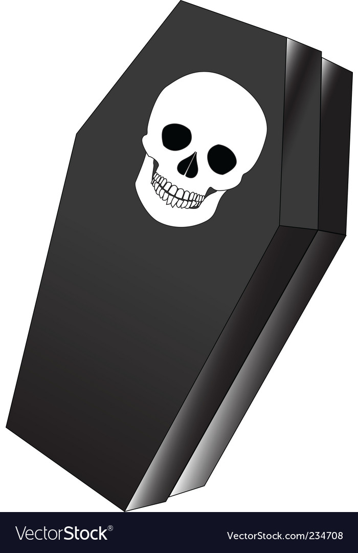 Coffin vector | Price: 1 Credit (USD $1)
