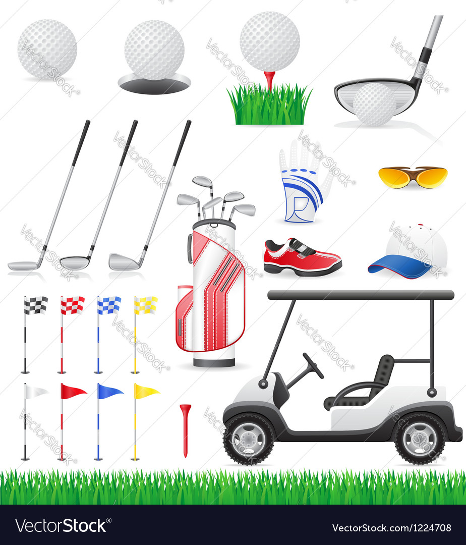Golf 15 vector | Price: 3 Credit (USD $3)