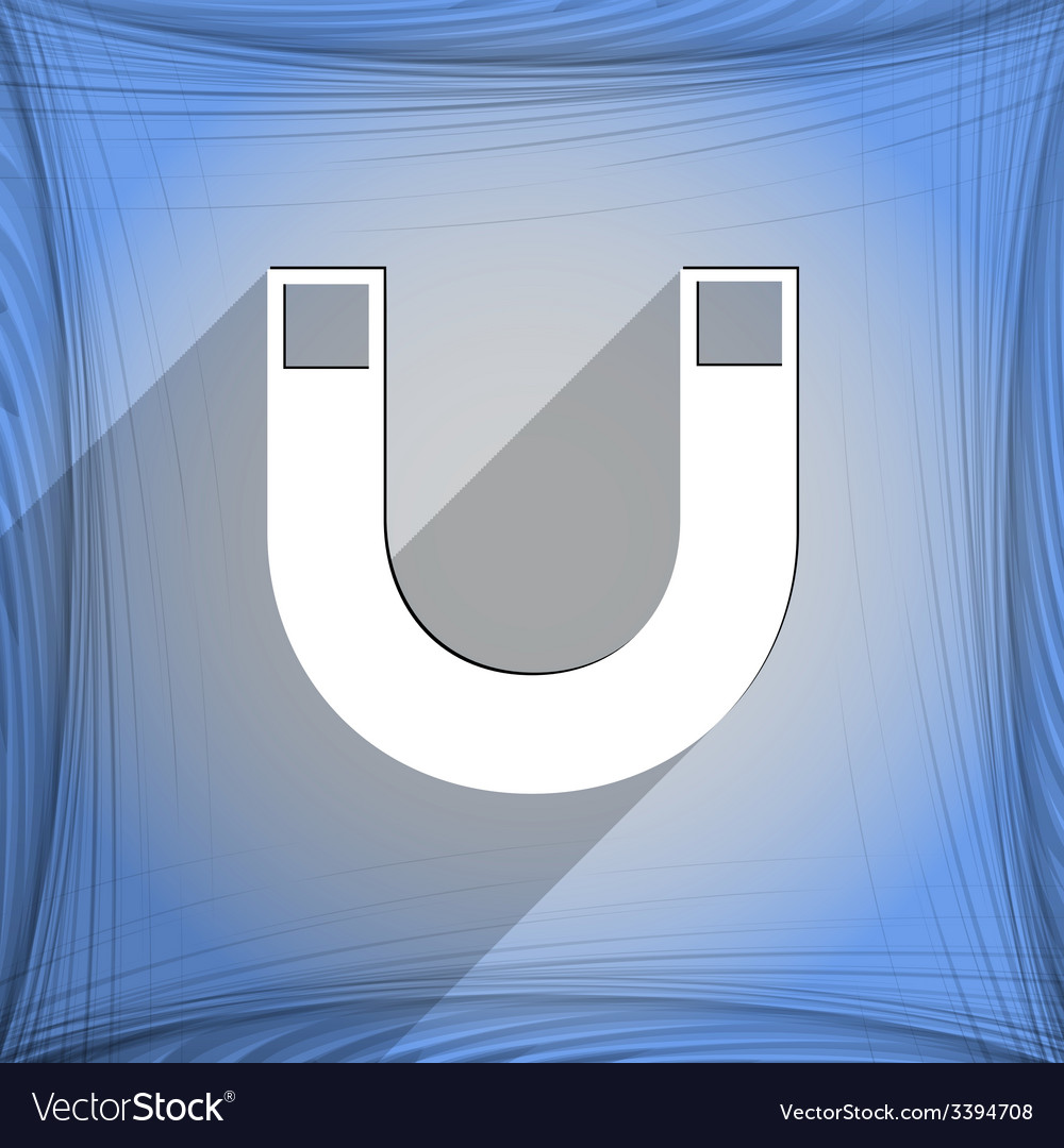 Magnet icon symbol flat modern web design with vector | Price: 1 Credit (USD $1)