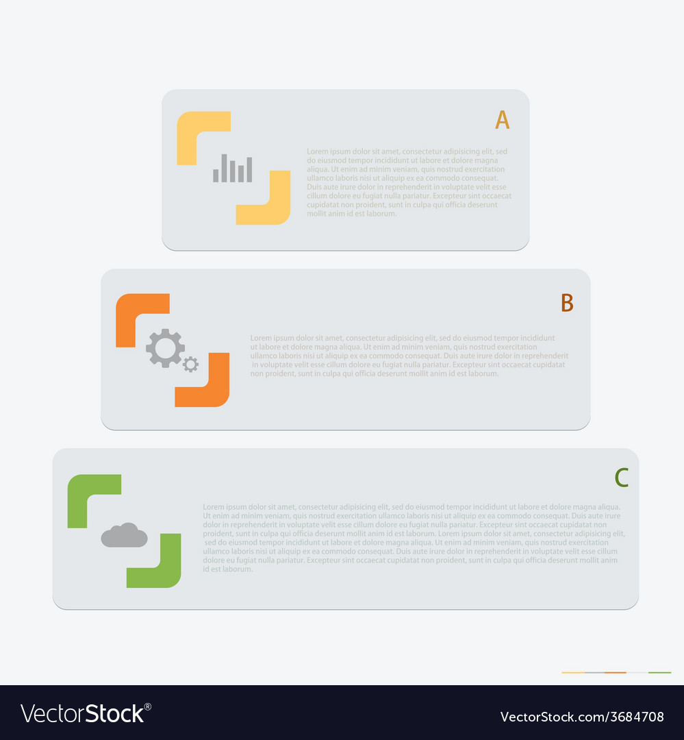 Modern infographic background vector | Price: 1 Credit (USD $1)