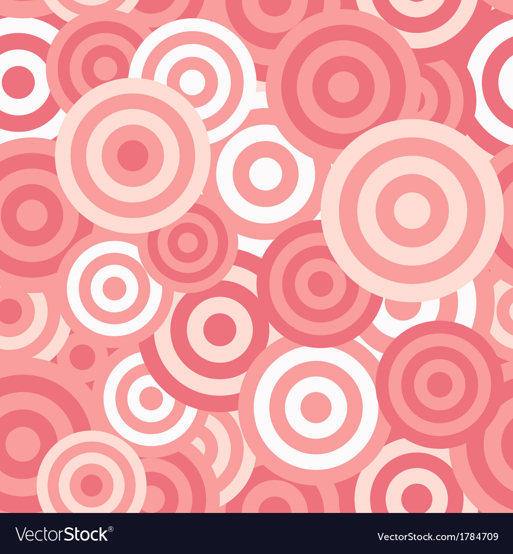 Hypnotic seamless pattern background vector | Price: 1 Credit (USD $1)