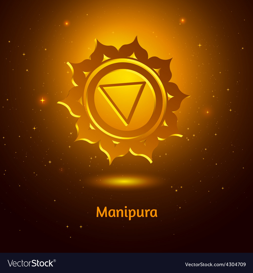Manipura chakra vector | Price: 1 Credit (USD $1)
