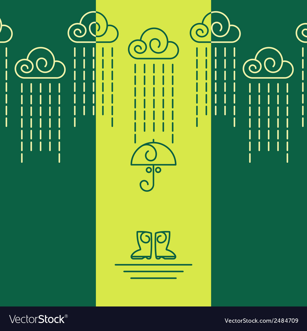 Raining day vector | Price: 1 Credit (USD $1)