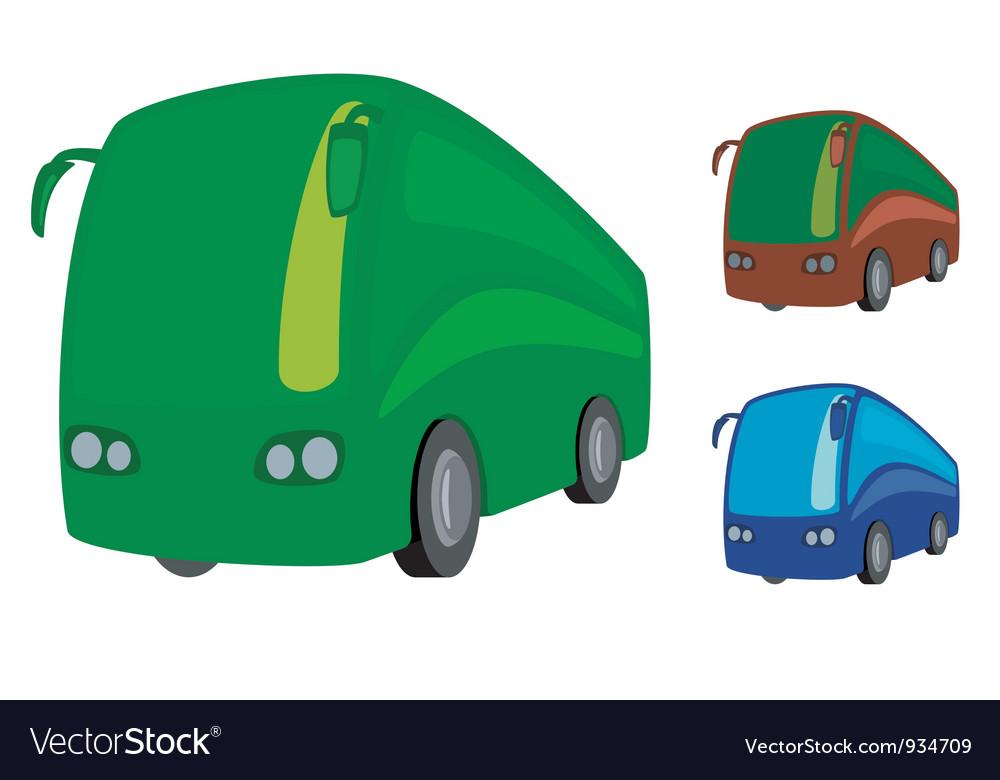 Tourist bus vector | Price: 1 Credit (USD $1)