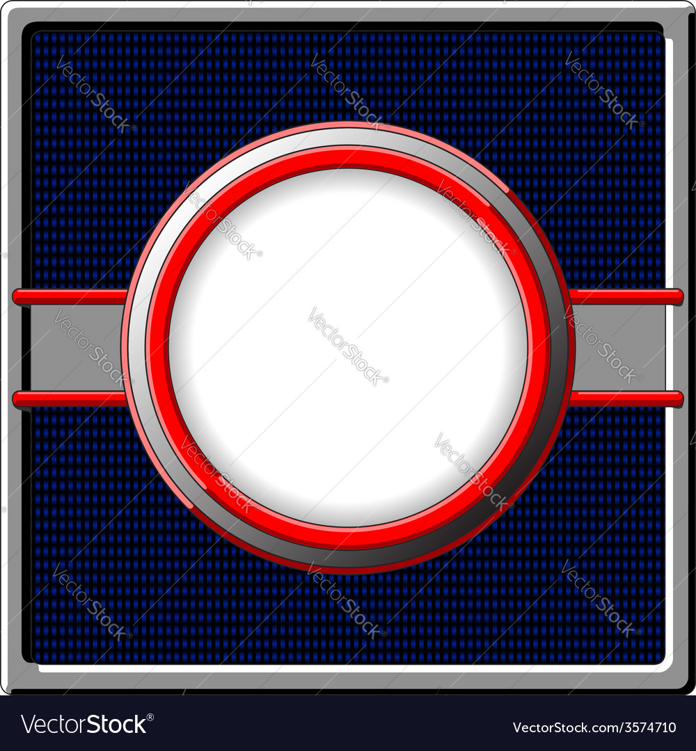 Chrome frame vector | Price: 1 Credit (USD $1)