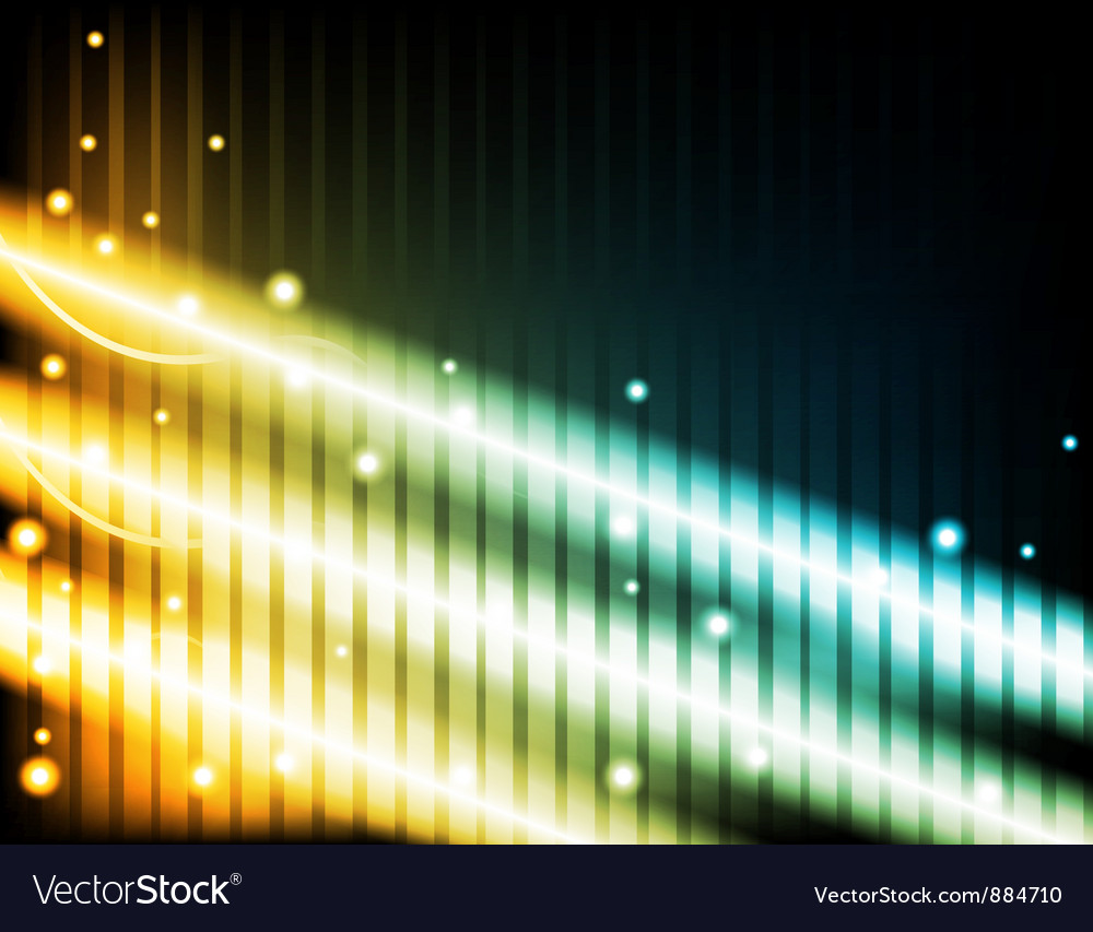 Energy beams vector | Price: 1 Credit (USD $1)