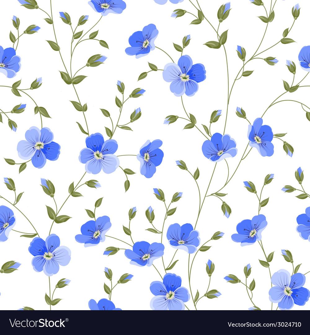 Field flowers wallpaper vector | Price: 1 Credit (USD $1)