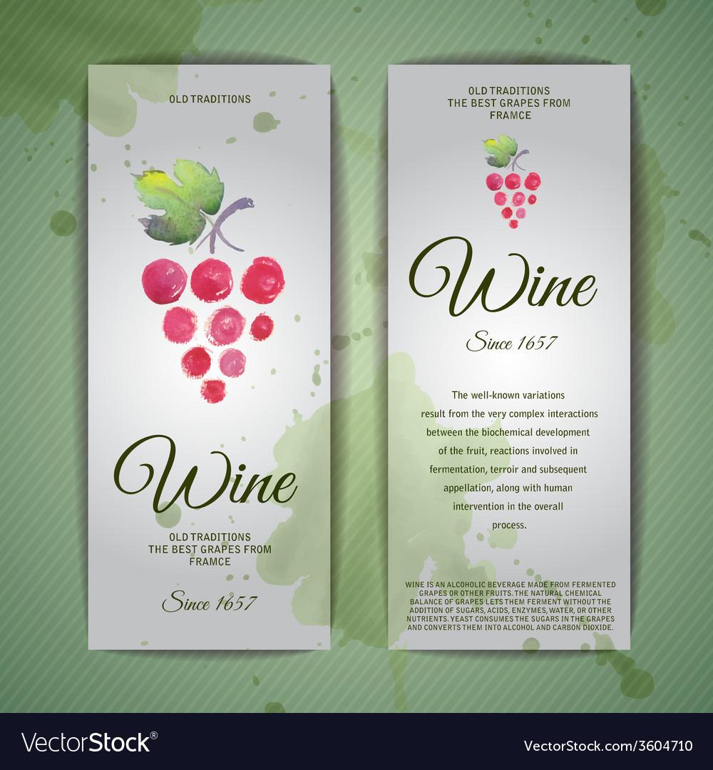 Grapes or wine concept design corporate identity vector | Price: 1 Credit (USD $1)