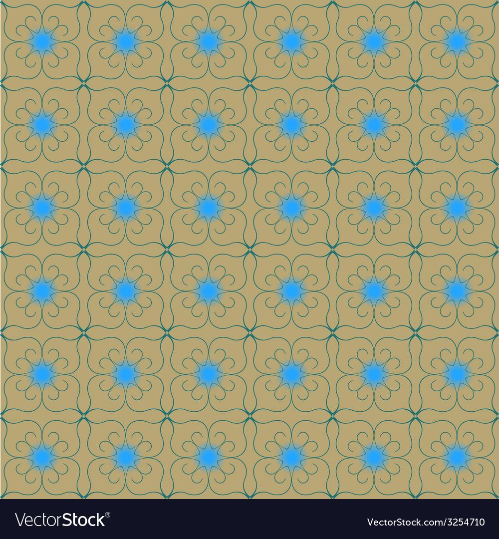 Vintage seamless pattern vector | Price: 1 Credit (USD $1)