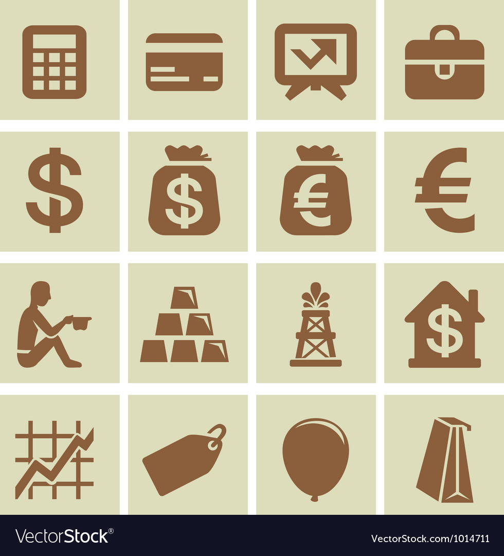 Design elements for finance and economy vector | Price: 1 Credit (USD $1)
