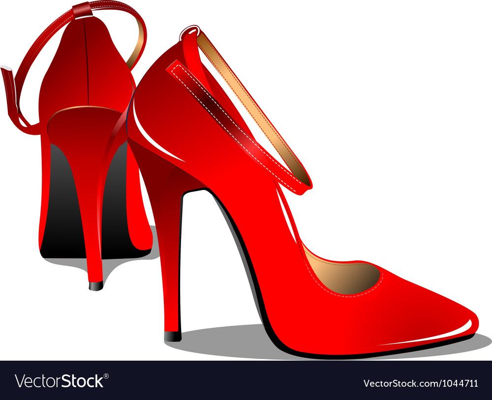 High heels vector | Price: 1 Credit (USD $1)