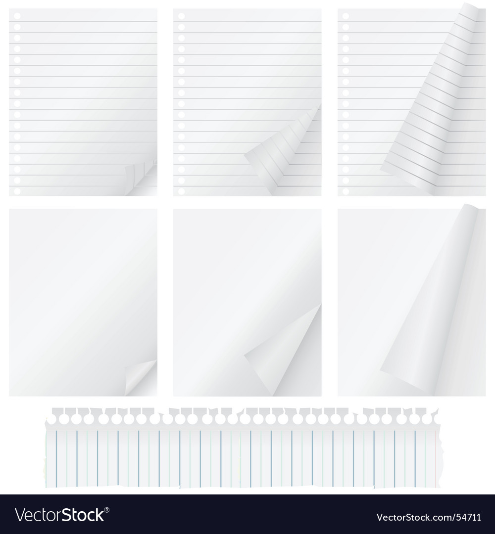 Page curl vector | Price: 1 Credit (USD $1)