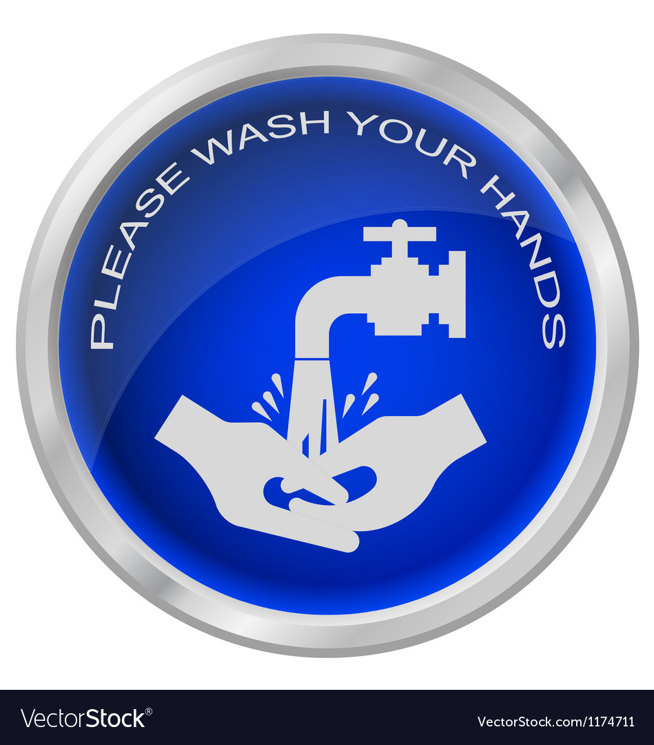 Wash hands vector | Price: 1 Credit (USD $1)