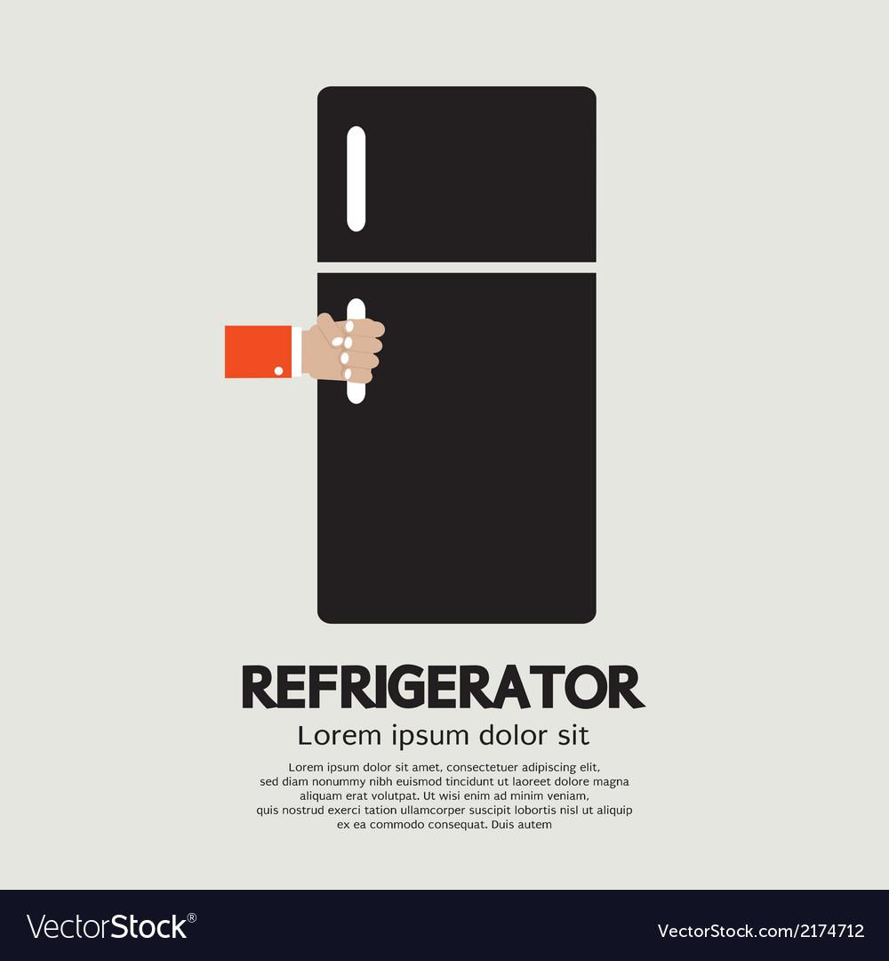 Refrigerator vector | Price: 1 Credit (USD $1)