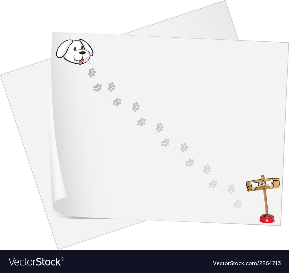 Empty sheets of bondpaper vector | Price: 1 Credit (USD $1)