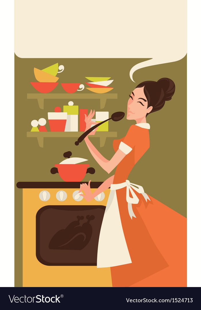 Home made cooking vector | Price: 3 Credit (USD $3)