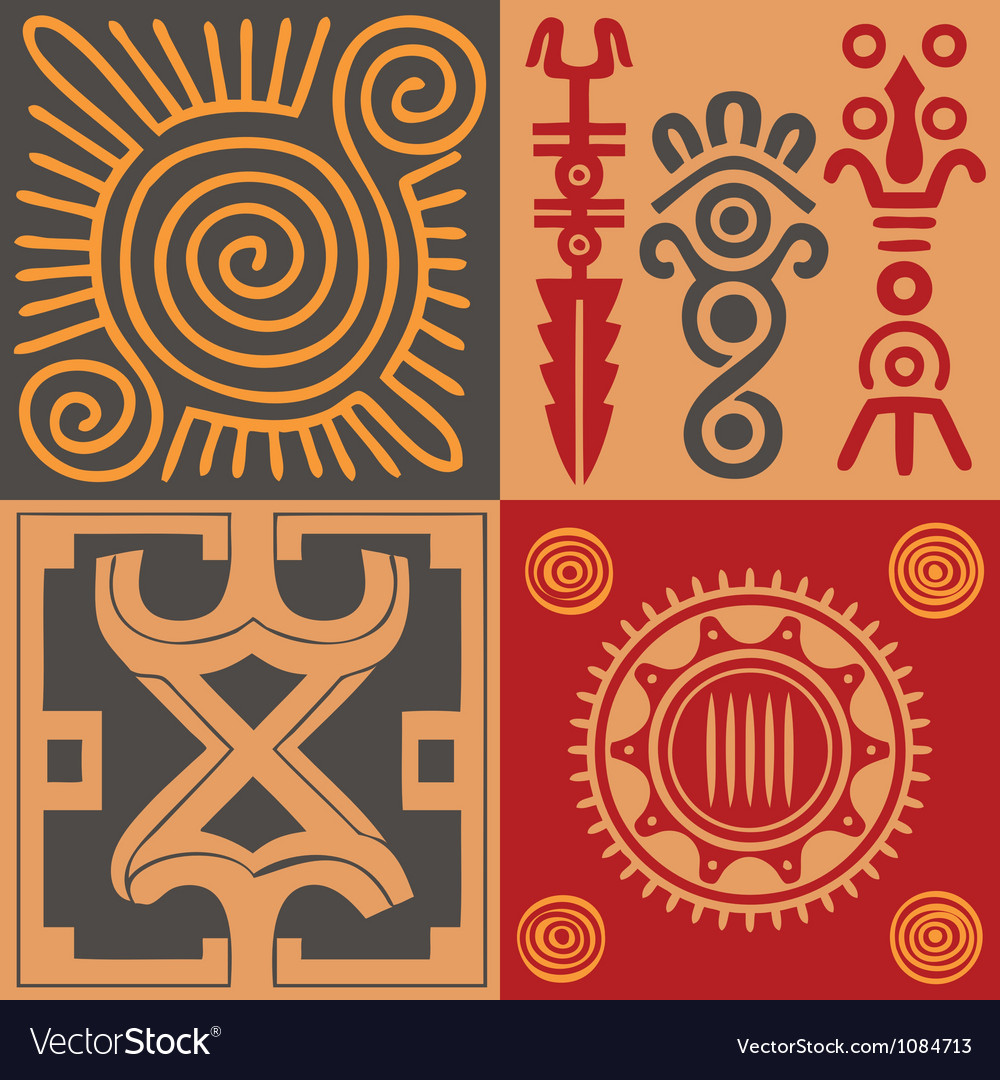 Indian ornament set vector | Price: 1 Credit (USD $1)