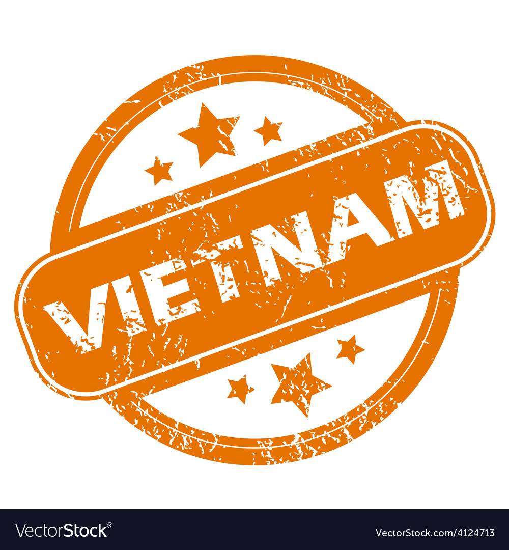 Vietnam grunge icon vector | Price: 1 Credit (USD $1)