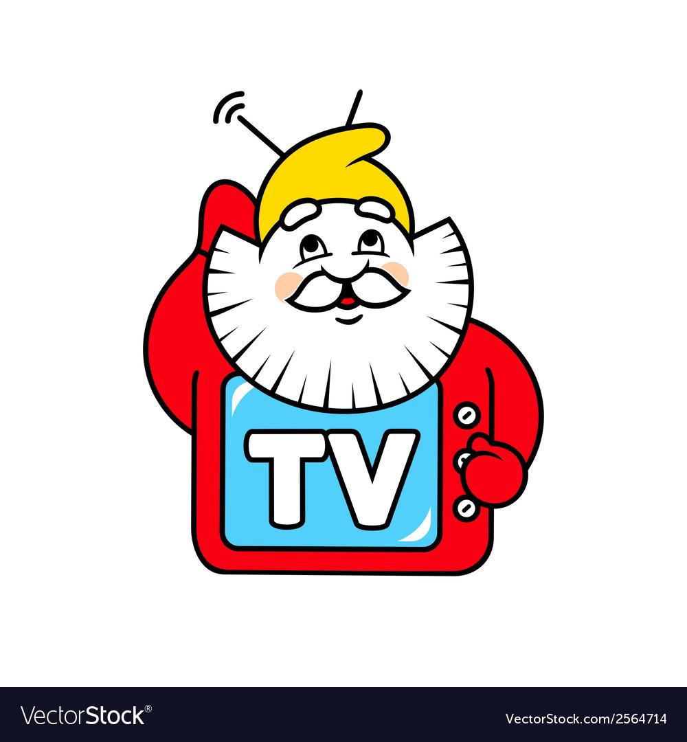 Dwarf tv sign vector | Price: 1 Credit (USD $1)