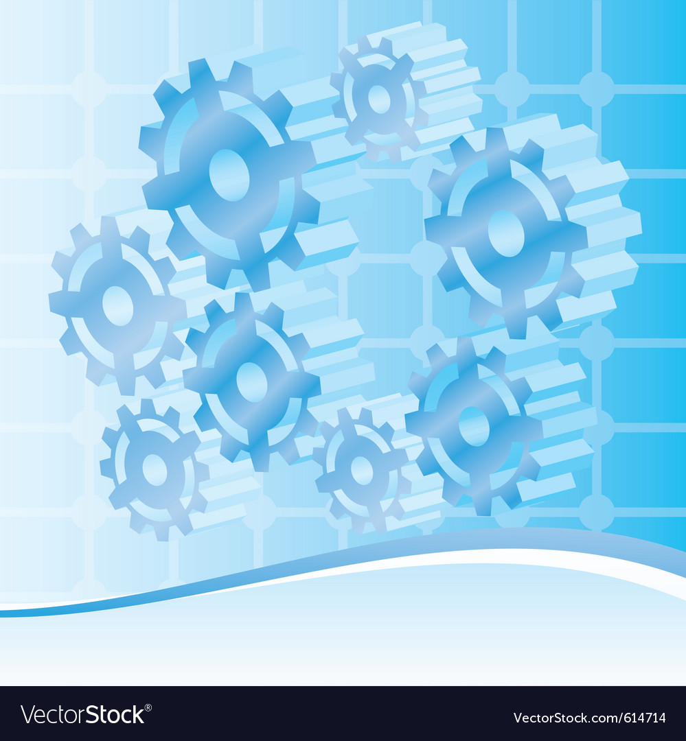 Engineering and technology background vector | Price: 1 Credit (USD $1)