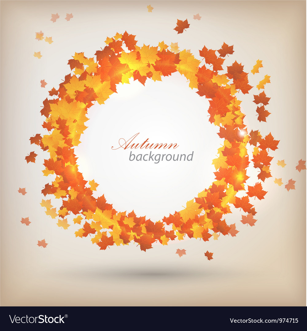 Autumn background 3 vector | Price: 1 Credit (USD $1)