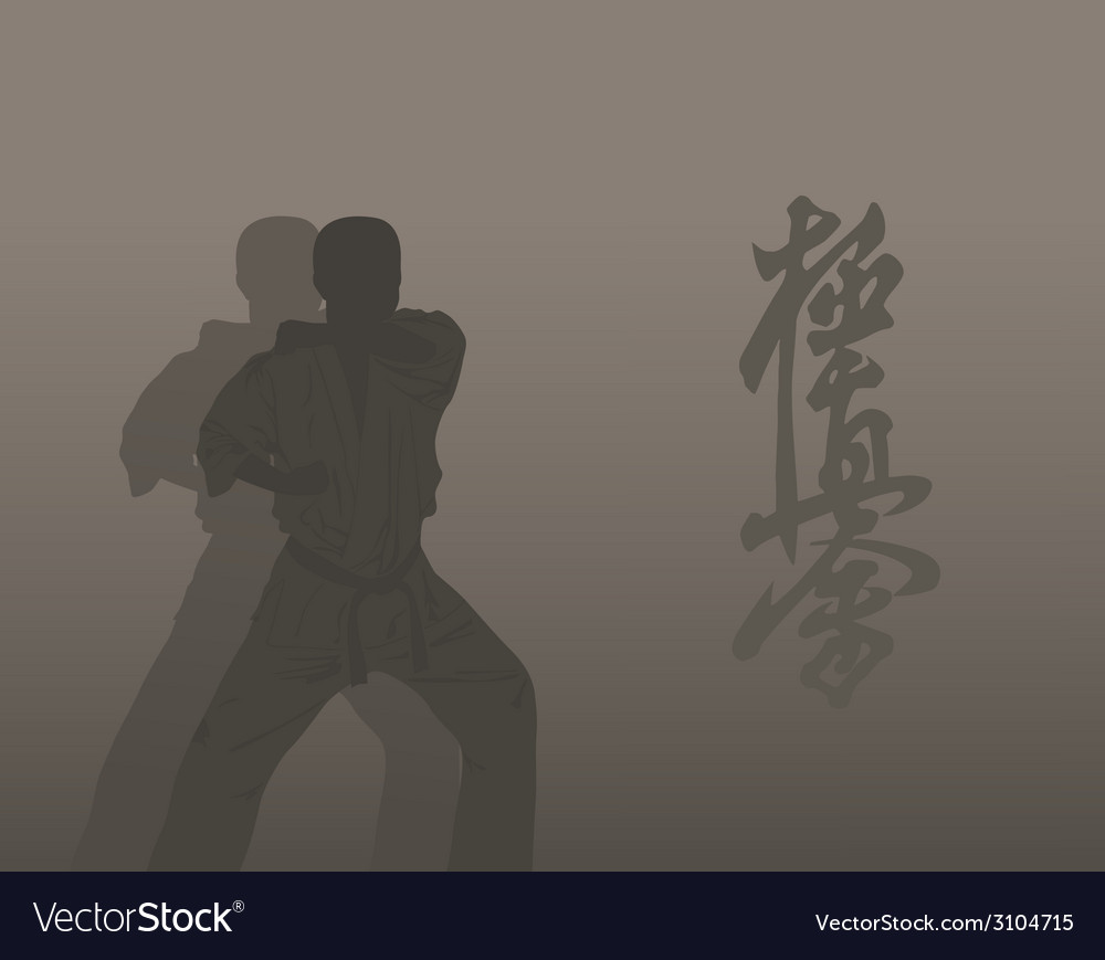 Karate vector | Price: 1 Credit (USD $1)