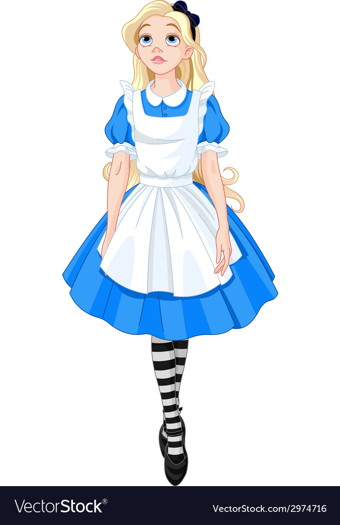 Beautiful alice vector | Price: 1 Credit (USD $1)