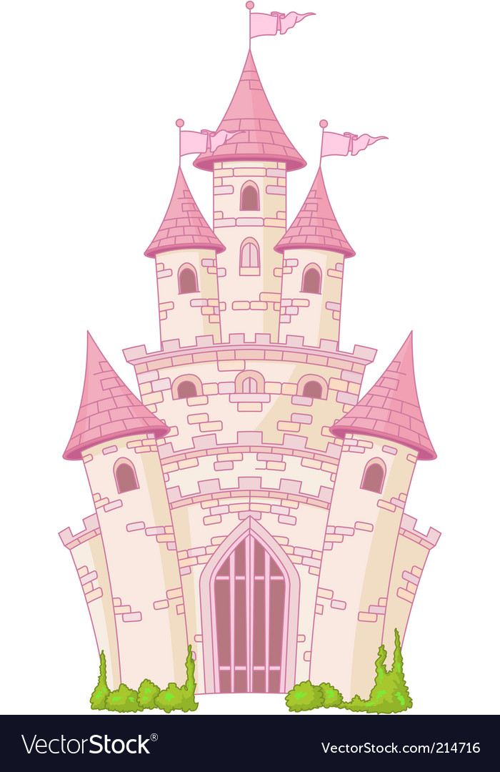 Magic castle vector | Price: 1 Credit (USD $1)