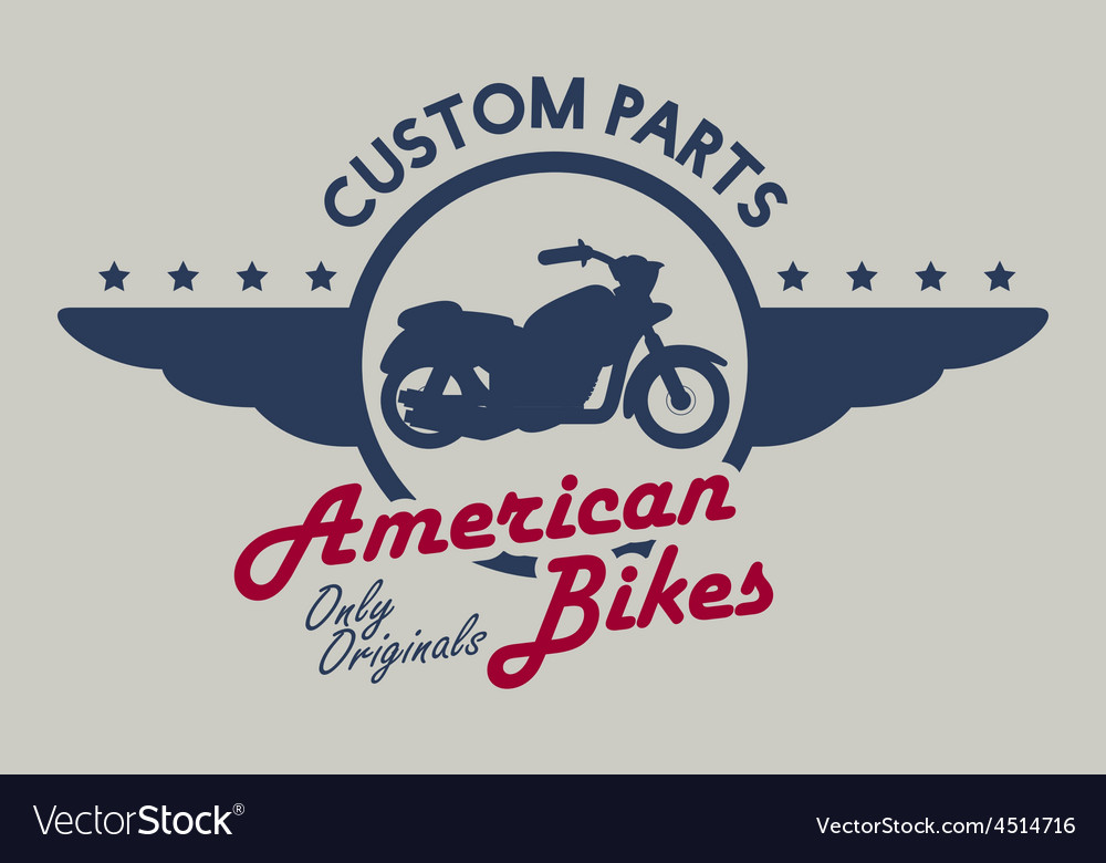 Motorcycle design vector | Price: 1 Credit (USD $1)