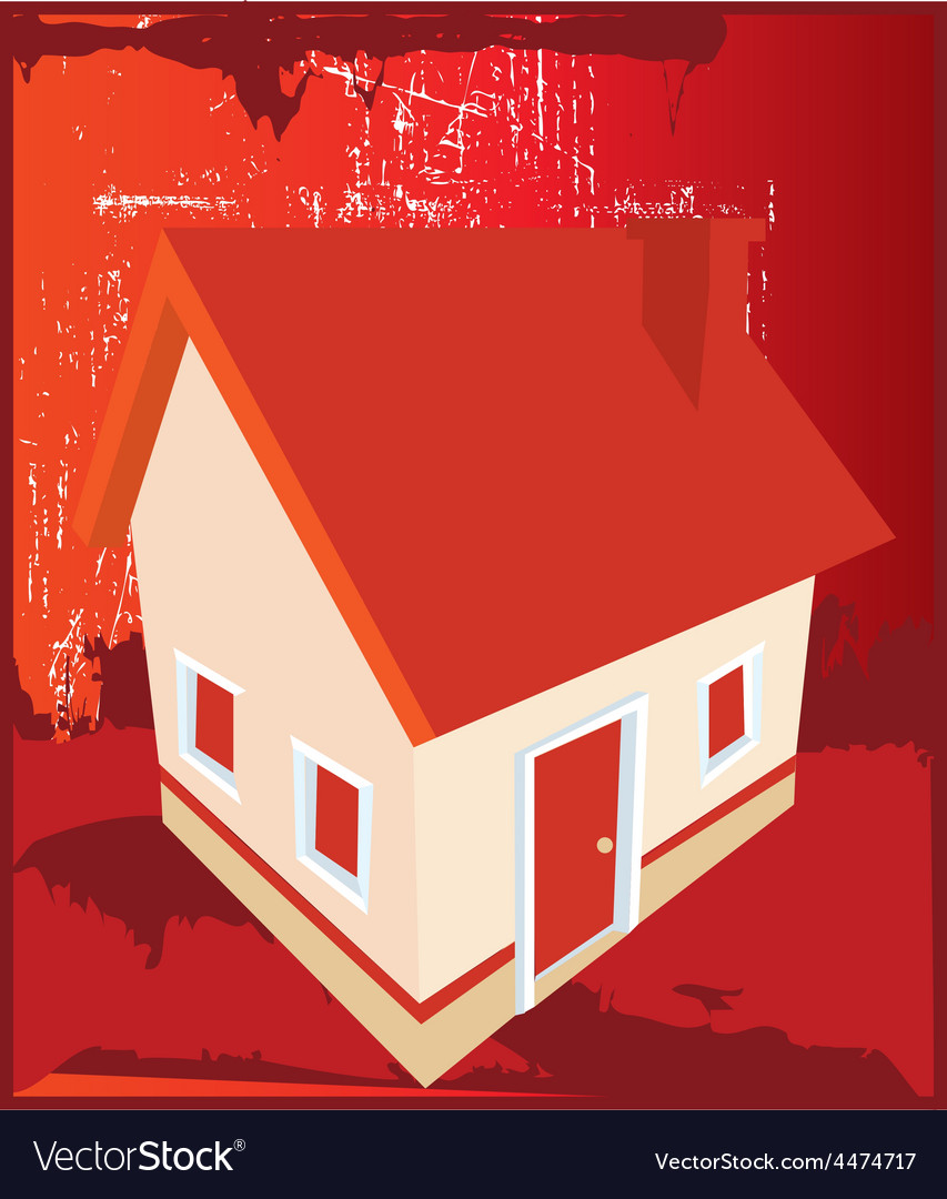 Abstract house design vector   Price: 1 Credit (USD $1)