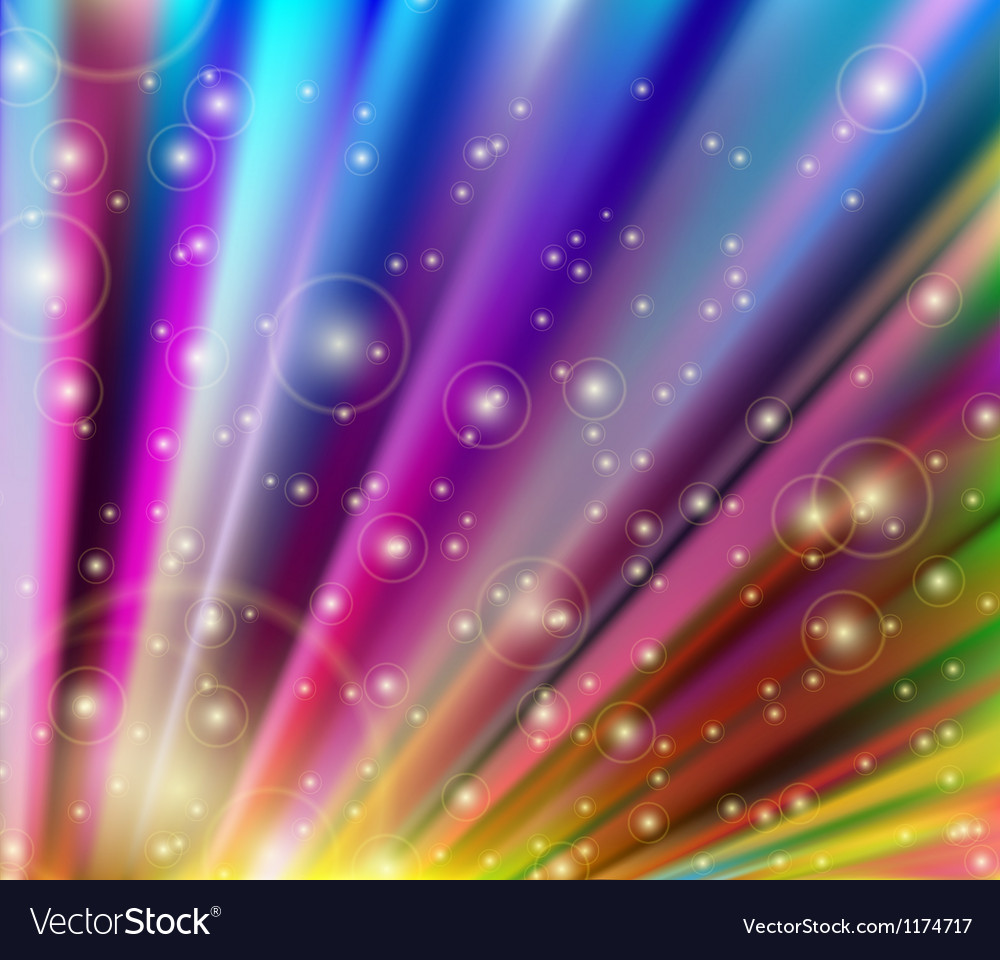 Abstract multicolored background vector | Price: 1 Credit (USD $1)