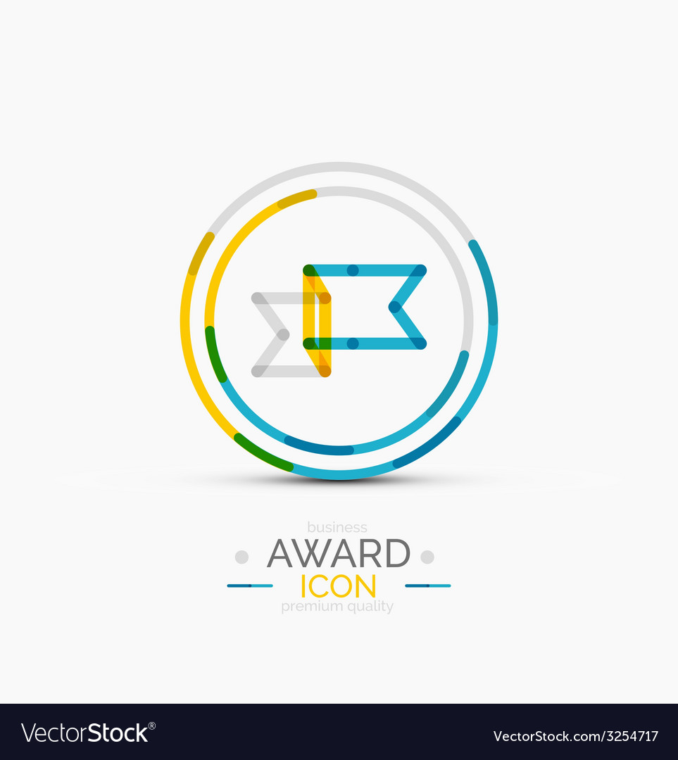 Award icon logo vector | Price: 1 Credit (USD $1)