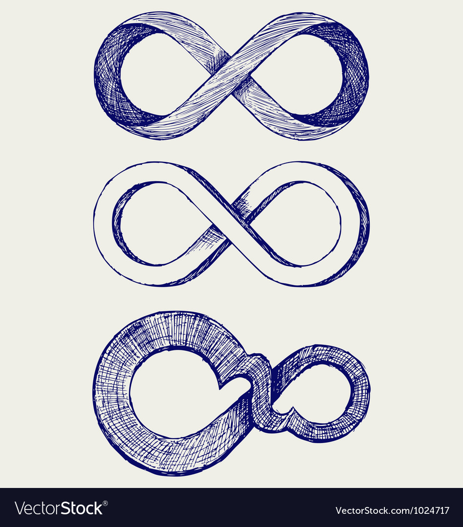 Infinity symbol vector | Price: 1 Credit (USD $1)