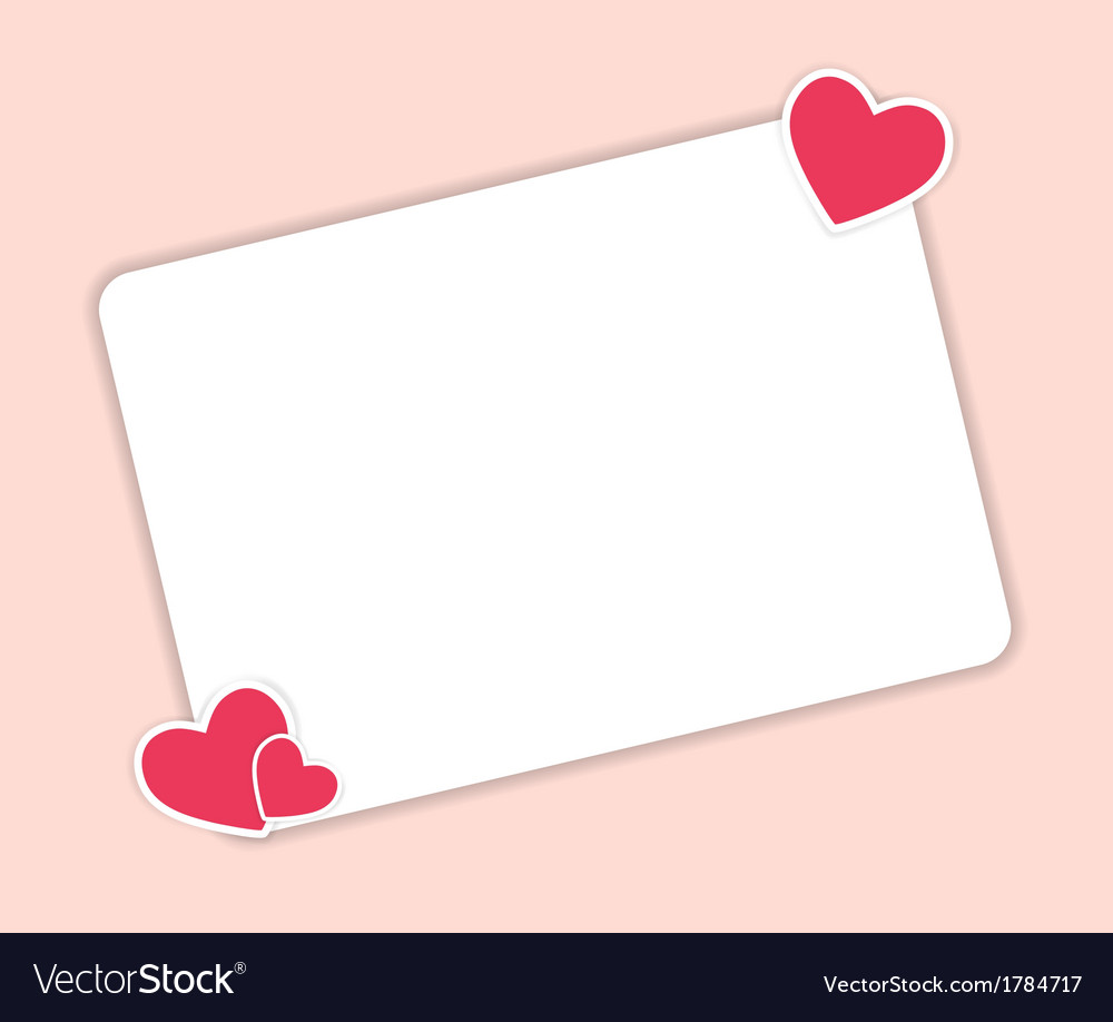 Valentines day heart backgroung vector | Price: 1 Credit (USD $1)