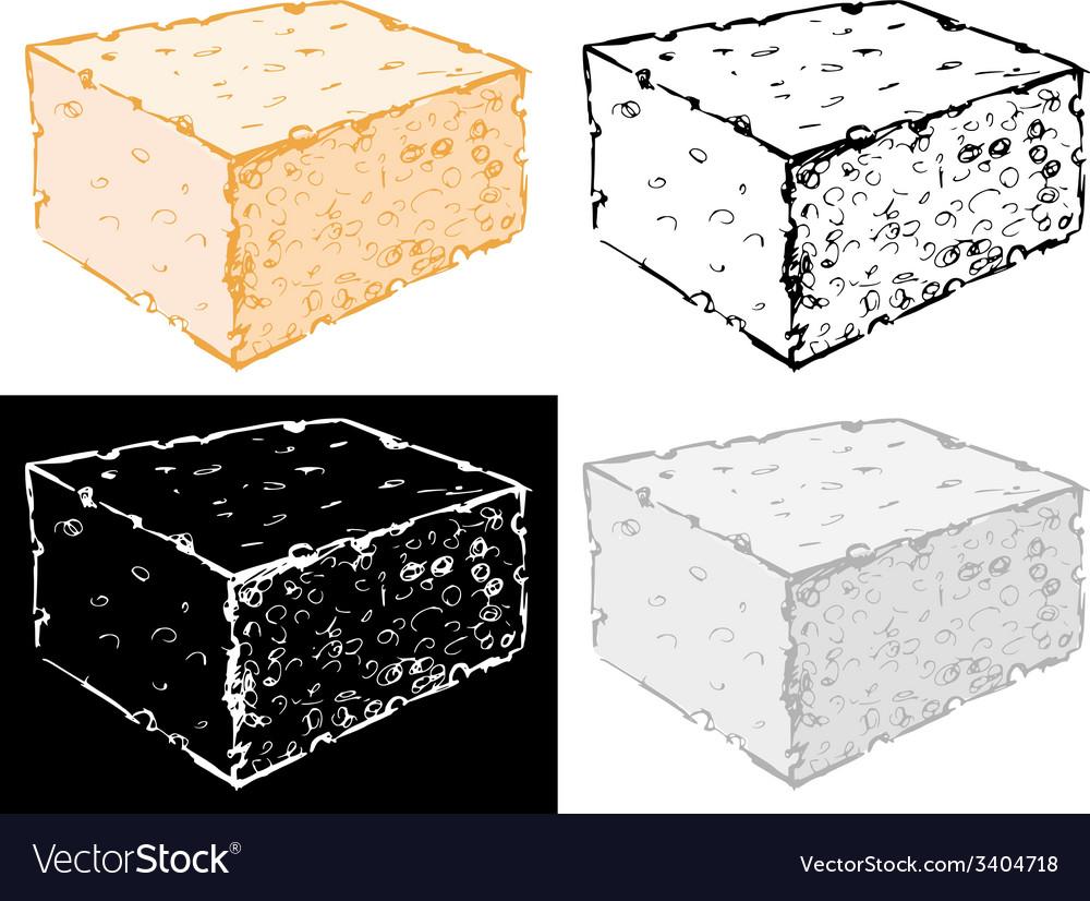 Bath sponge vector | Price: 1 Credit (USD $1)
