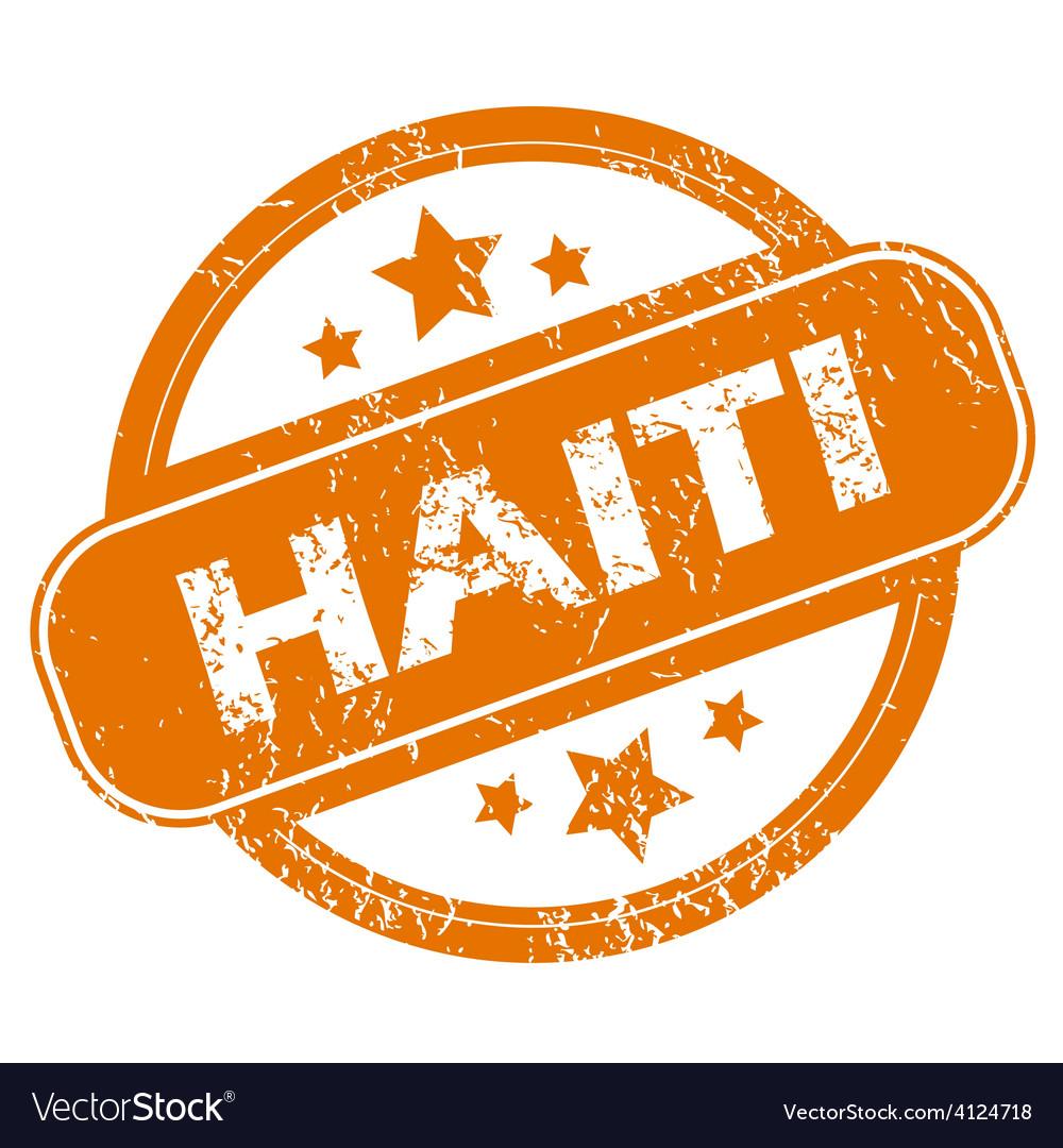 Haiti grunge icon vector | Price: 1 Credit (USD $1)