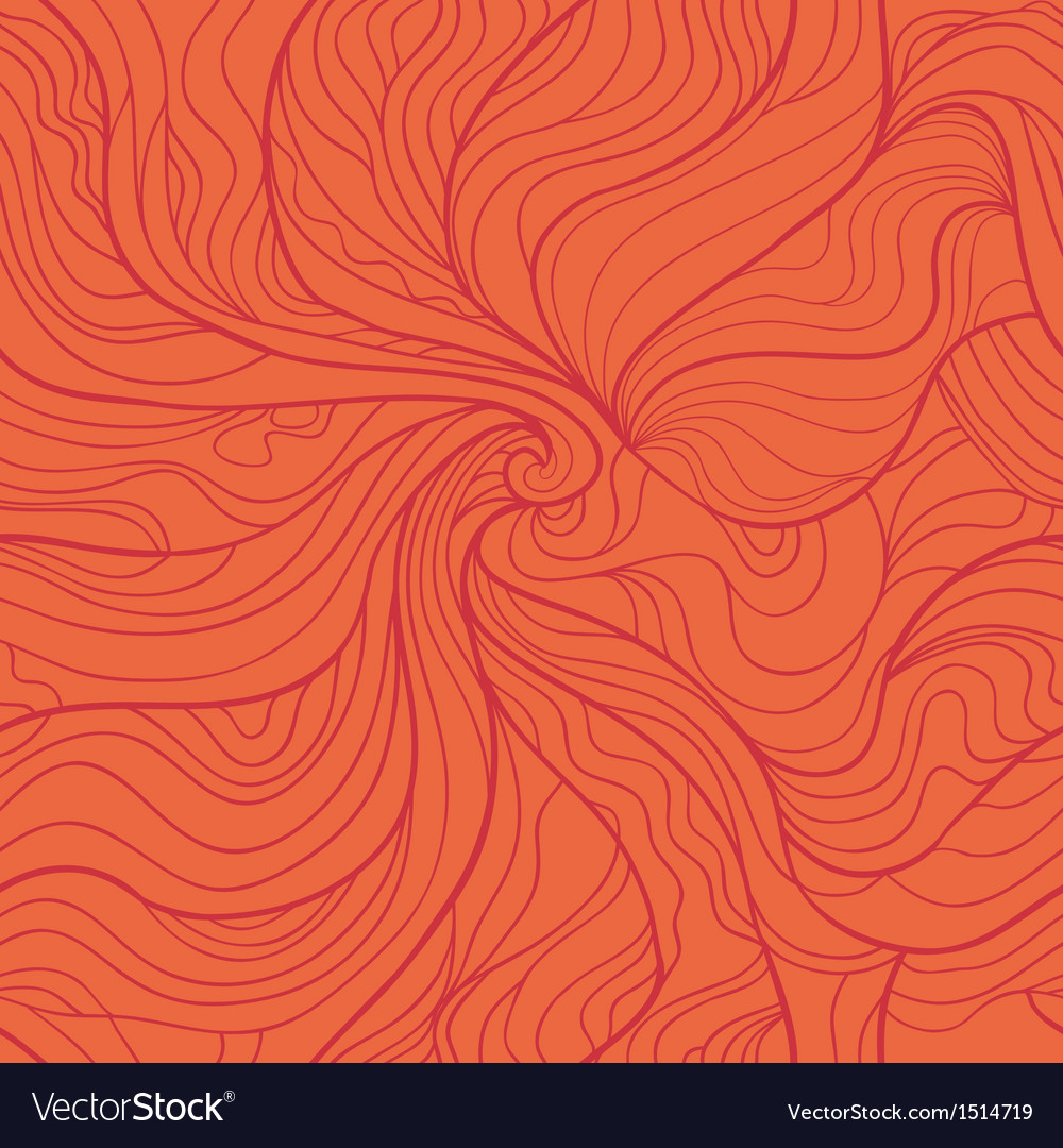 Abstract whirlpool seamless pattern in red tints vector | Price: 1 Credit (USD $1)