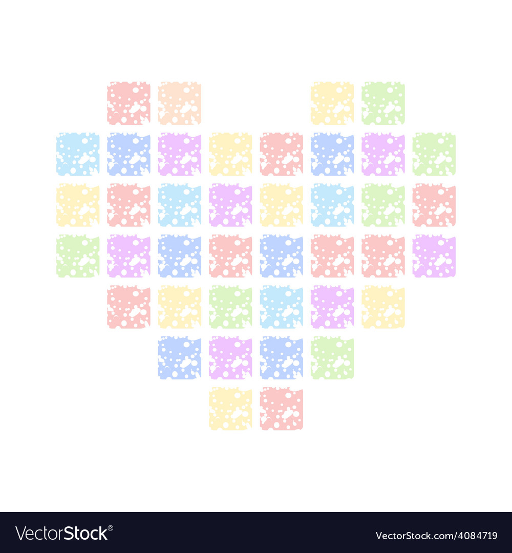 Colored hearts vector | Price: 1 Credit (USD $1)