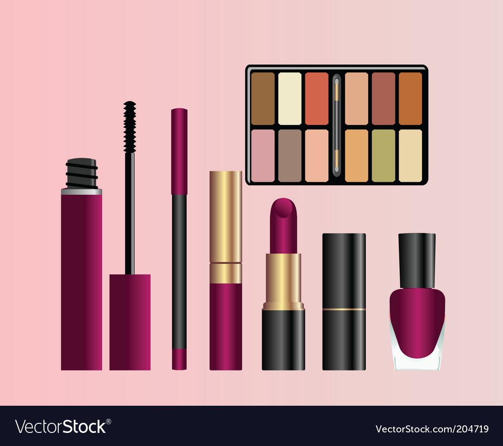 Female accessories vector | Price: 1 Credit (USD $1)