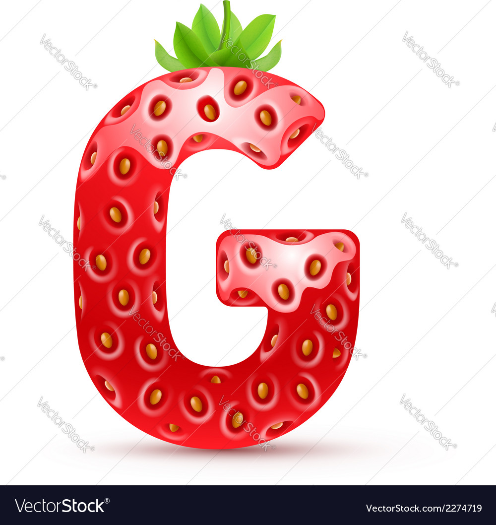 Tasty alphabet vector | Price: 1 Credit (USD $1)