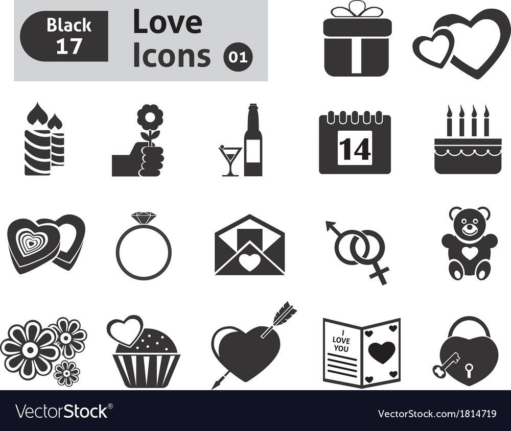 Valentines icon vector | Price: 1 Credit (USD $1)