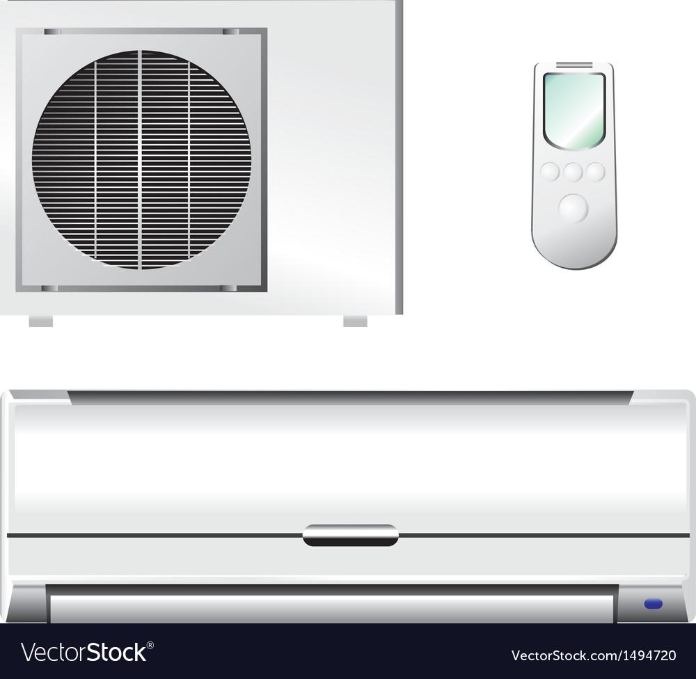 Air conditioner set vector   Price: 1 Credit (USD $1)